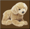 "Honey Golden Retriever 23"" by Douglas"