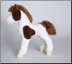 "Windy Brown and White Paint Foal 10"" by Douglas"