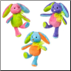 "Rainbow Bunny Assortment 6"" by Mary Meyer"