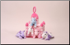 Princess Castle with Fancy Horses by Unipak Designs