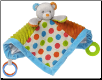 "Confetti Teddy Activity Blanket 13"" by Mary Meyer"
