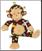 "TAGGIES Big Dazzle Dots Monkey 18"" by Mary Meyer"