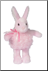 "Dolly Puff Bunny 8"" by Douglas"