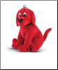 "Clifford Big Red Dog Sitting Large Cuddle Pal 15"" by Douglas"