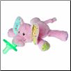 "Ella Bella Elephant Wubbanub Pacifier 6"" by Mary Meyer"