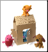 Sago Mini - Small Plush Gift Pack including House and 4 Animals
