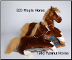 "Maple Chestnut Horse 22"" by Douglas"