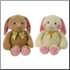 "Sitting Chenille Bunnies 10"" by Fiesta"