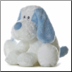 "Blue Scruff the Plush Puppy Dog 9"" by Aurora"