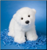 "Marshmallow Polar Bear 15"" by Douglas"