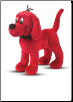 "Clifford Big Red Dog Standing Small Cuddle Pal 8"" by Douglas"
