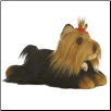 "Yorkshire Terrier Yorkie Dog Medium 11"" by Miyoni"