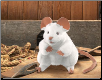 "White Mouse Hand Puppet 8"" by Folkmanis"