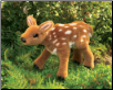 "Fawn Hand Puppet 13"" by Folkmanis"