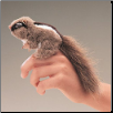 Mini Chipmunk Finger Puppet by Folkmanis