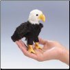 Mini Eagle Finger Puppet by Folkmanis