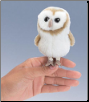 Mini Barn Owl Finger Puppet by Folkmanis