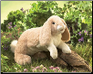 "Floppy Bunny Rabbit Hand Puppet 17"" by Folkmanis"