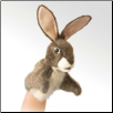 "Little Hare Puppet 7"" by Folkmanis"
