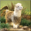 "Alpaca Hand Puppet 19"" by Folkmanis"