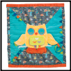 "Playtivity Owl Activity Blanket 18"" by Douglas"