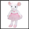 "Petunia Ballerina Mouse Large 20"" by Douglas"