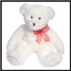 "Snow Flurry White Bear Large 22"" by Douglas"