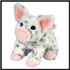"Pauline Small Spotted Pig 7"" by Douglas"