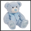 "Satrdust Large Baby Blue Bear 11"" by Douglas"