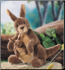 "Jirra the Kangaroo 10"" by Gund"