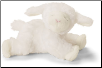 "Winky White Lamb Rattle 4.5"" by Gund"
