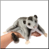 "Douglas Cuddle Toy Squeek Sugar Glider 12"" Long with Tail"