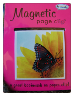Wildlife Butterfly Deluxe Single Magnetic Page Clip Bookmark by Re-marks