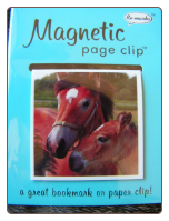 Wildlife Horse Deluxe Single Magnetic Page Clip Bookmark by Re-marks