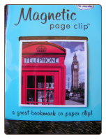 Big Ben Deluxe Single Magnetic Page Clip Bookmark by Re-marks