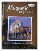 Coliseum Deluxe Single Magnetic Page Clip Bookmark by Re-marks