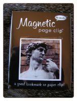 David Statue Deluxe Single Magnetic Page Clip Bookmark by Re-marks