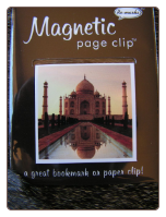 Taj Mahal Deluxe Single Magnetic Page Clip Bookmark by Re-marks