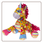 "Print Pizzazz Ring Toss Unicorn - 10"" by Mary Meyer"