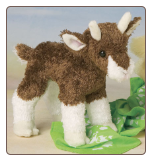 "Buffy Baby Goat 6"" by Douglas"