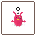 "Clip On Ugly Charlie 4"" Uglydoll by Pretty Ugly"