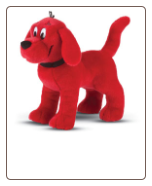 "Clifford Big Red Dog Standing Large Cuddle Pal 16"" by Douglas"