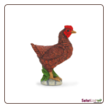 "Safari Farm:  Bantam Hen 2"" by Safari Ltd."