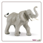 "Wild Safari:  African Elephant Figure 6"" by Safari Ltd"