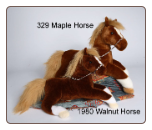 "Walnut Chestnut Horse 16"" by Douglas"