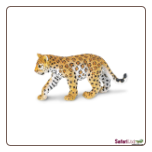 "Wild Safari:  Leopard Cub Figure 4"" by Safari Ltd"