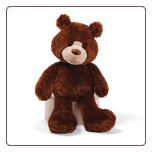 "Lanky Brown Bear 15"" by Gund"