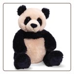 "Zi - Bo Panda Small 12"" by Gund"