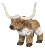 "T-Bone Longhorn Steer 8"" by Douglas"