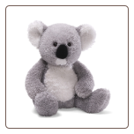 "Foster Gray Koala 11"" by Gund"